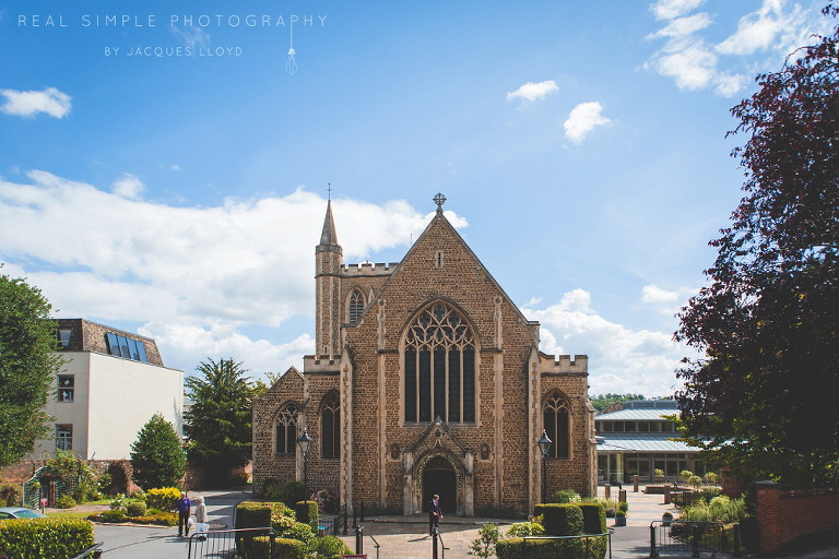 Church Wedding - St Peter's Roman Catholic Church Winchester, Hampshire