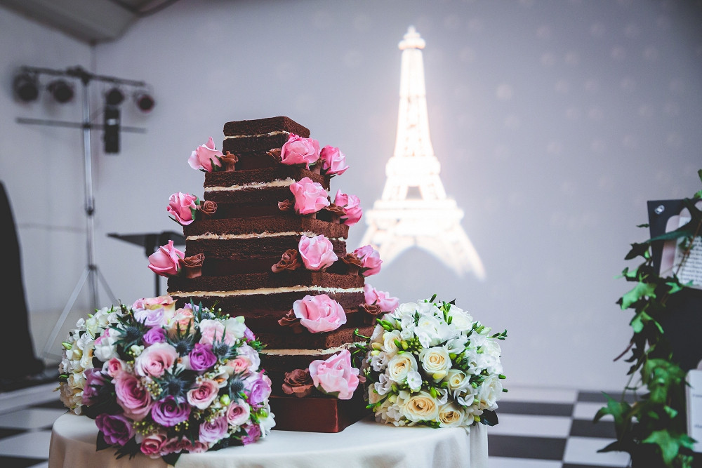 Wedding Cake by Sublime Cakes, photos by Real Simple Photography