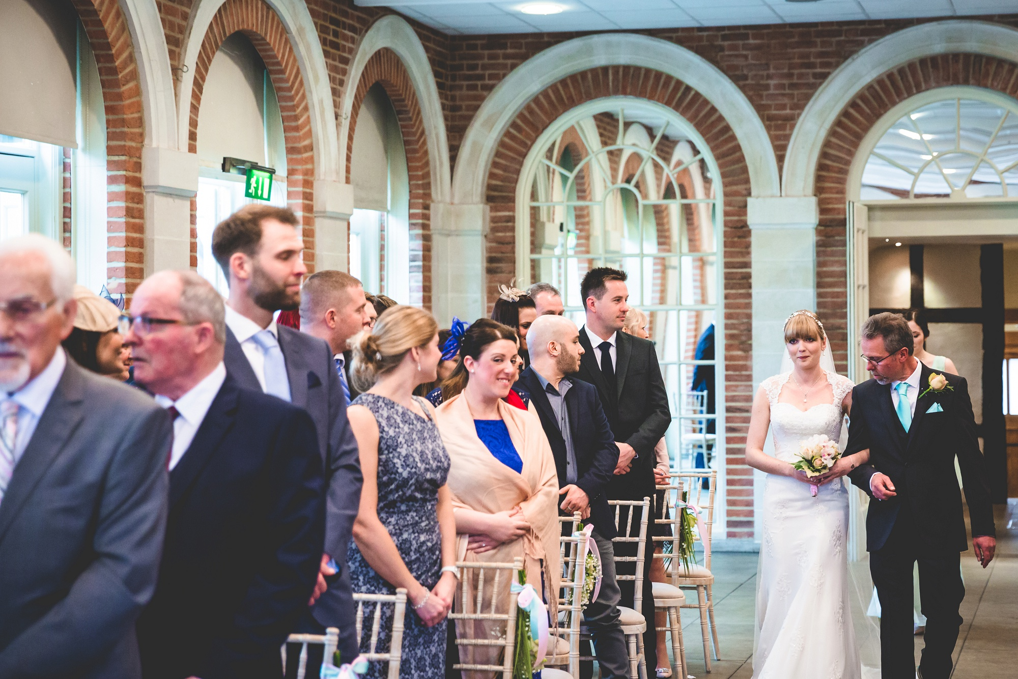 Great Fosters Wedding by Real Simple Photography