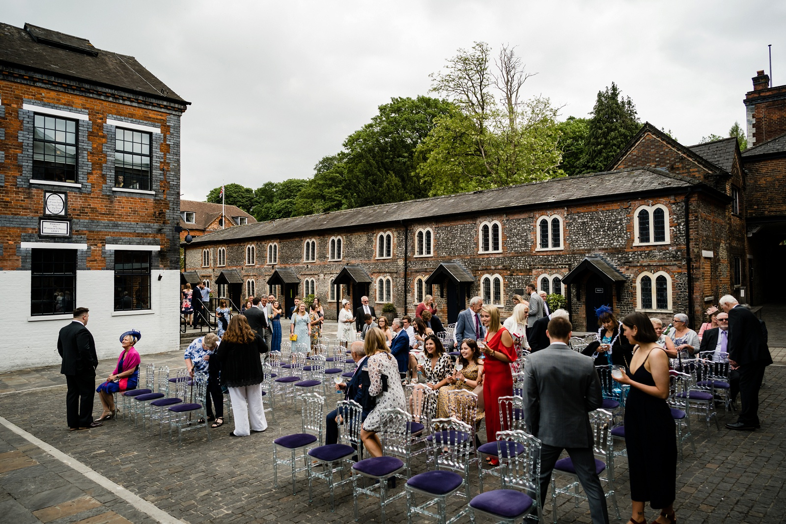 Bombay Sapphire Wedding