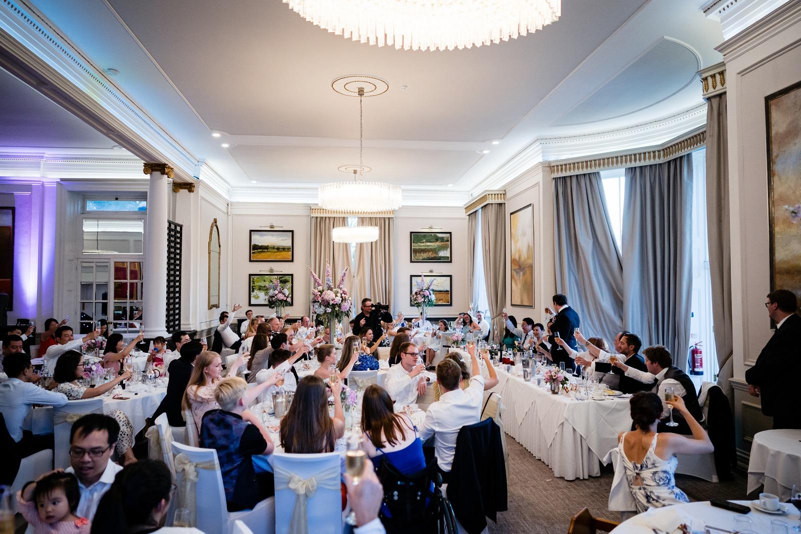 Oatlands Park Hotel Wedding